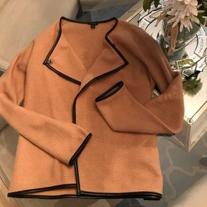 Ann Taylor Brand Camel Color Wool Jacket Small